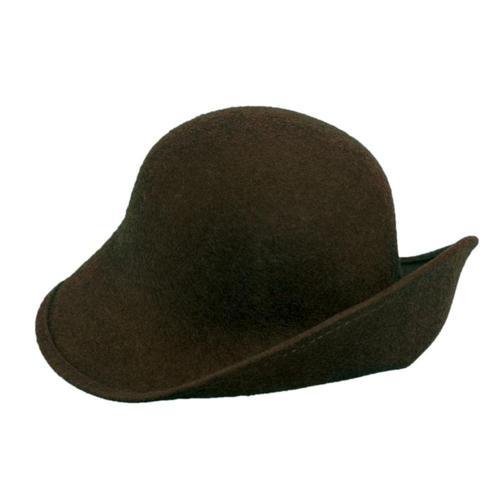 Dorfman-Pacific Co. Scala Women's Six Ways Hat Brown