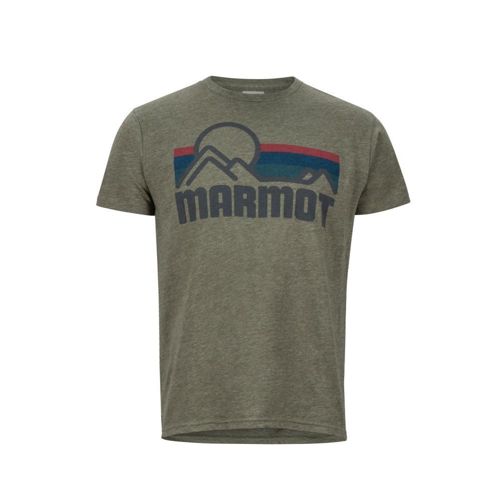 Marmot Men's Coastal Short Sleeve Tee OLIVEH_4480
