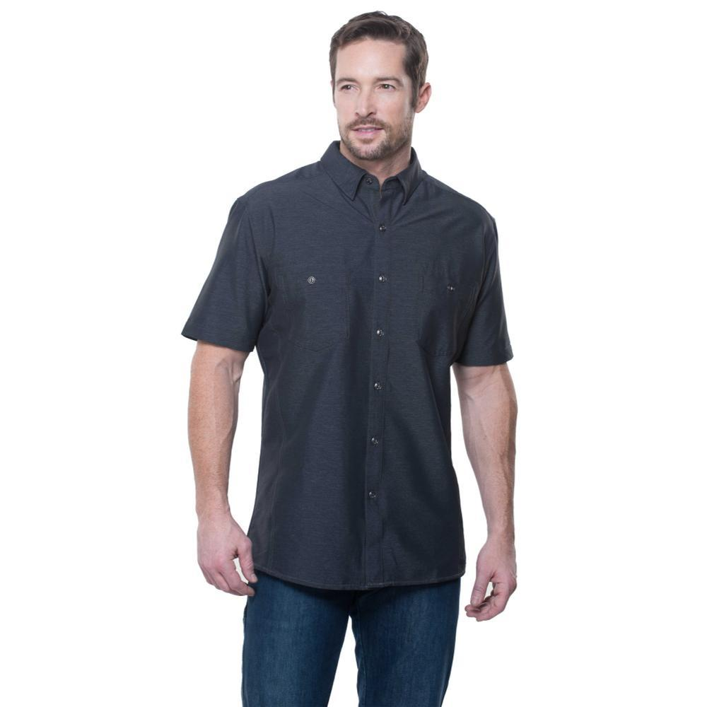 KUHL Men's Reklaimr Short Sleeve Shirt CARBON