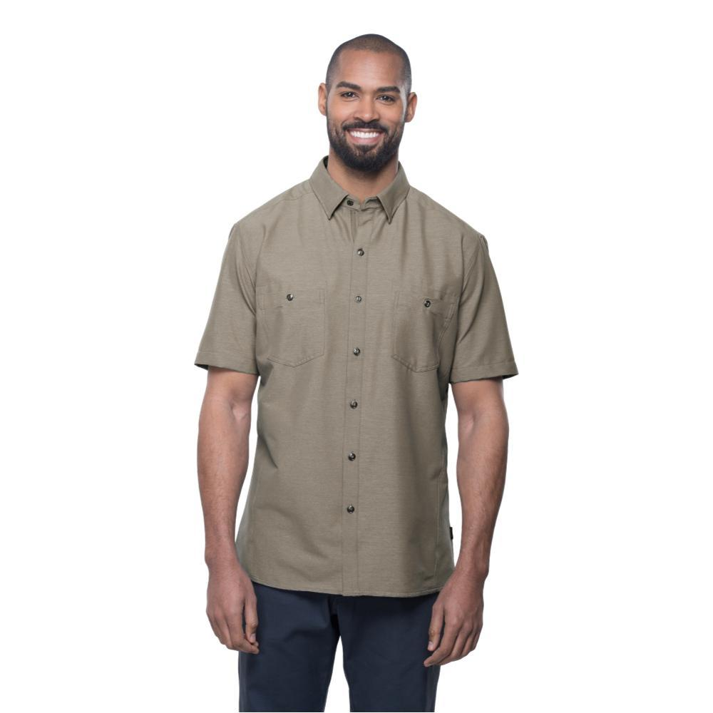 KUHL Men's Reklaimr Short Sleeve Shirt SHIITAKE