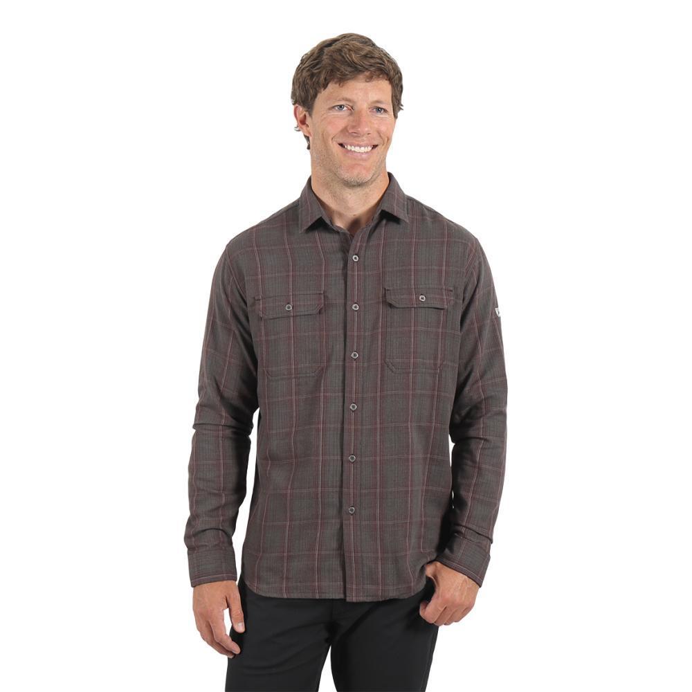 KUHL Men's Shatterd Shirt IRONOXIDE