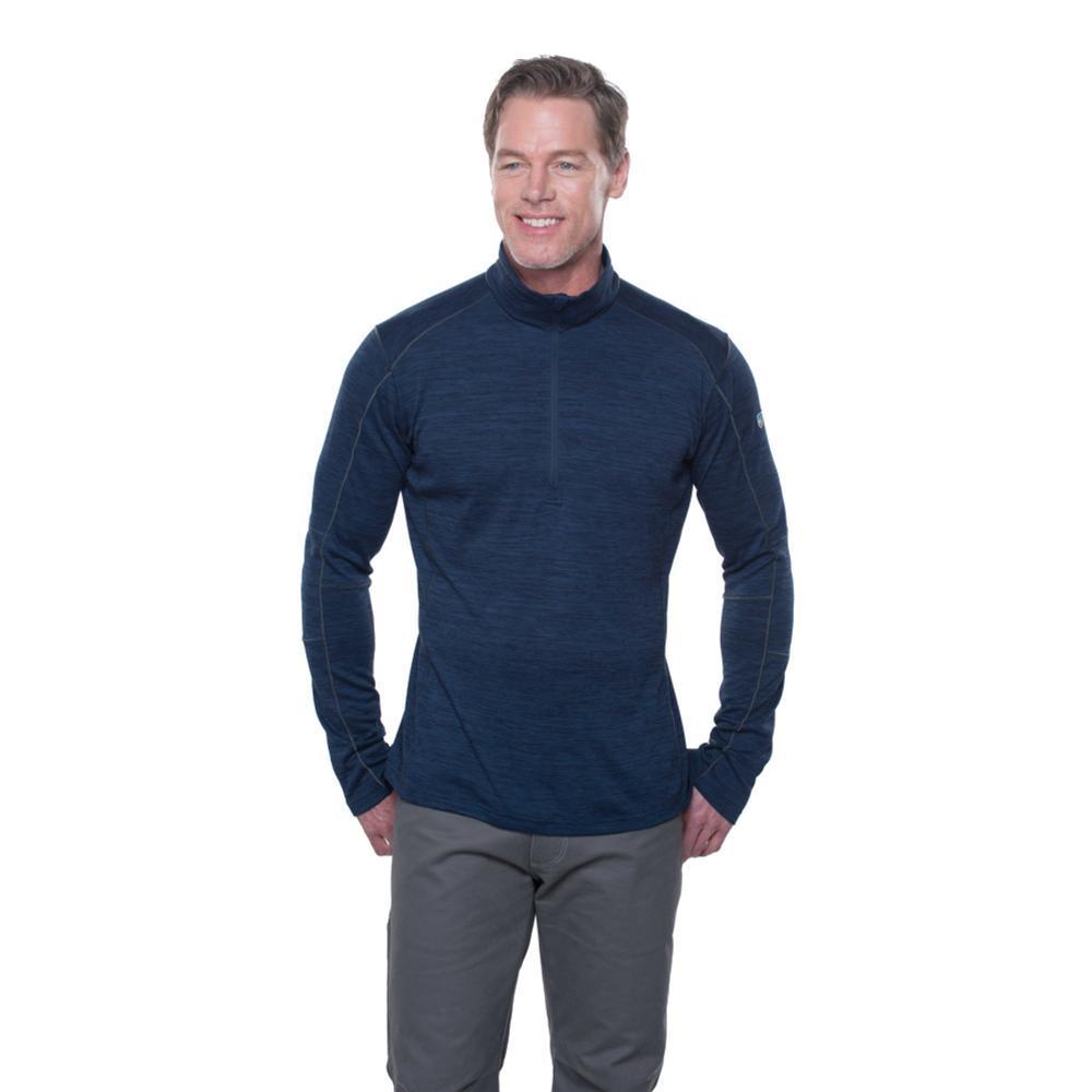 KUHL Men's Alloy 1/4 Zip Sweater BLUEDEPTHS