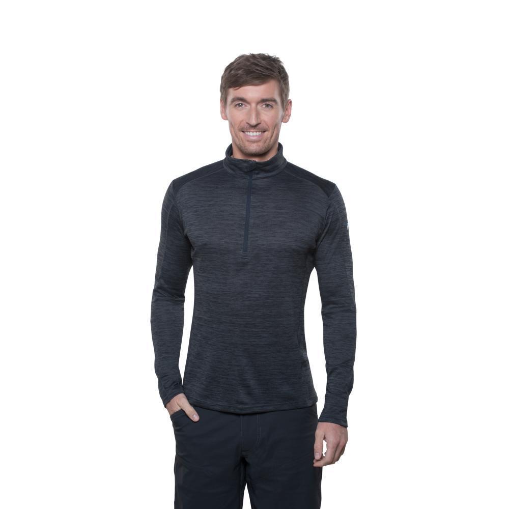 KUHL Men's Alloy 1/4 Zip Sweater GRAPHITE