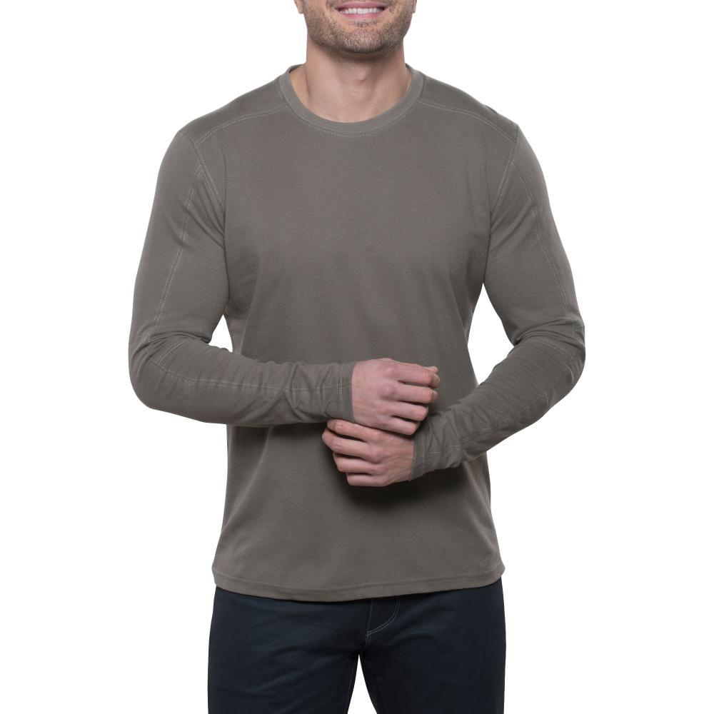 KUHL Men's Bravado Long Sleeve Shirt OLIVE
