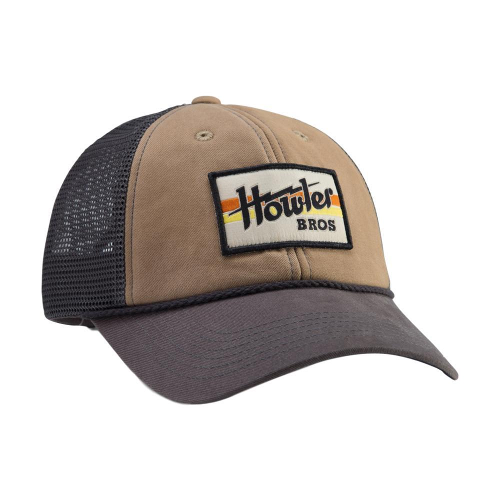 Howler Brothers Electric Stripe Standard Hat KHAKICHARCO