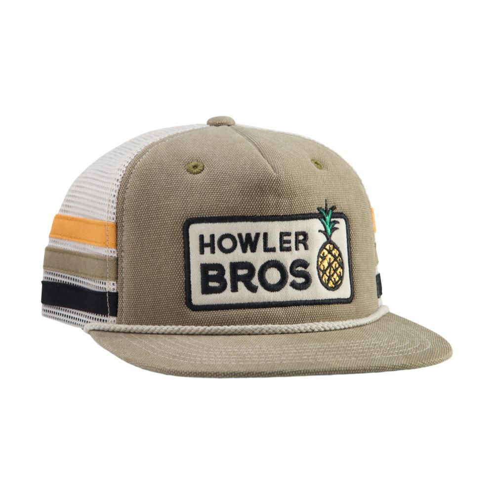 Howler Brothers Hospitality Snapback Hat KHAKISTRIPE