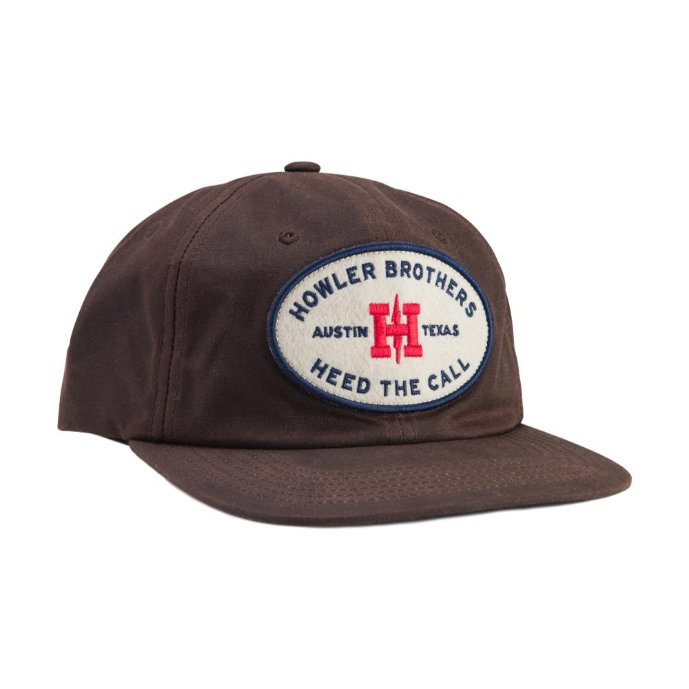 Selected Color Howler Brothers Oval Unstructured Snapback Hat BROWNWAXCAN f99e4922e08