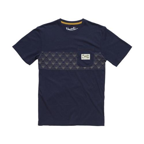 Howler Brothers Shashiko Shell Stripe Classic Pocket T-Shirt