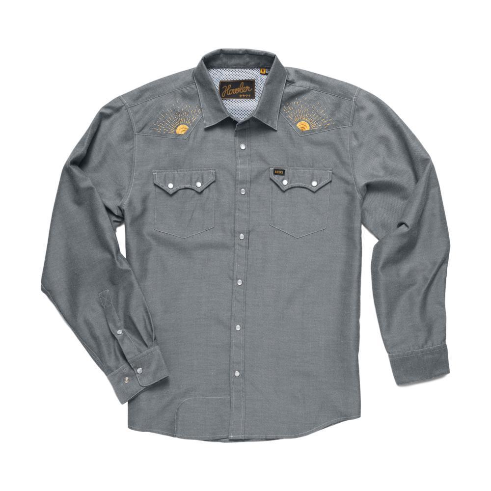 Howler Brothers Crosscut Deluxe Long Sleeve Snapshirt RISINGSUN