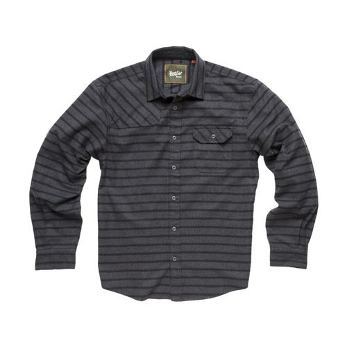 Howler Brothers Harker's Flannel Long Sleeve Shirt Charcoal