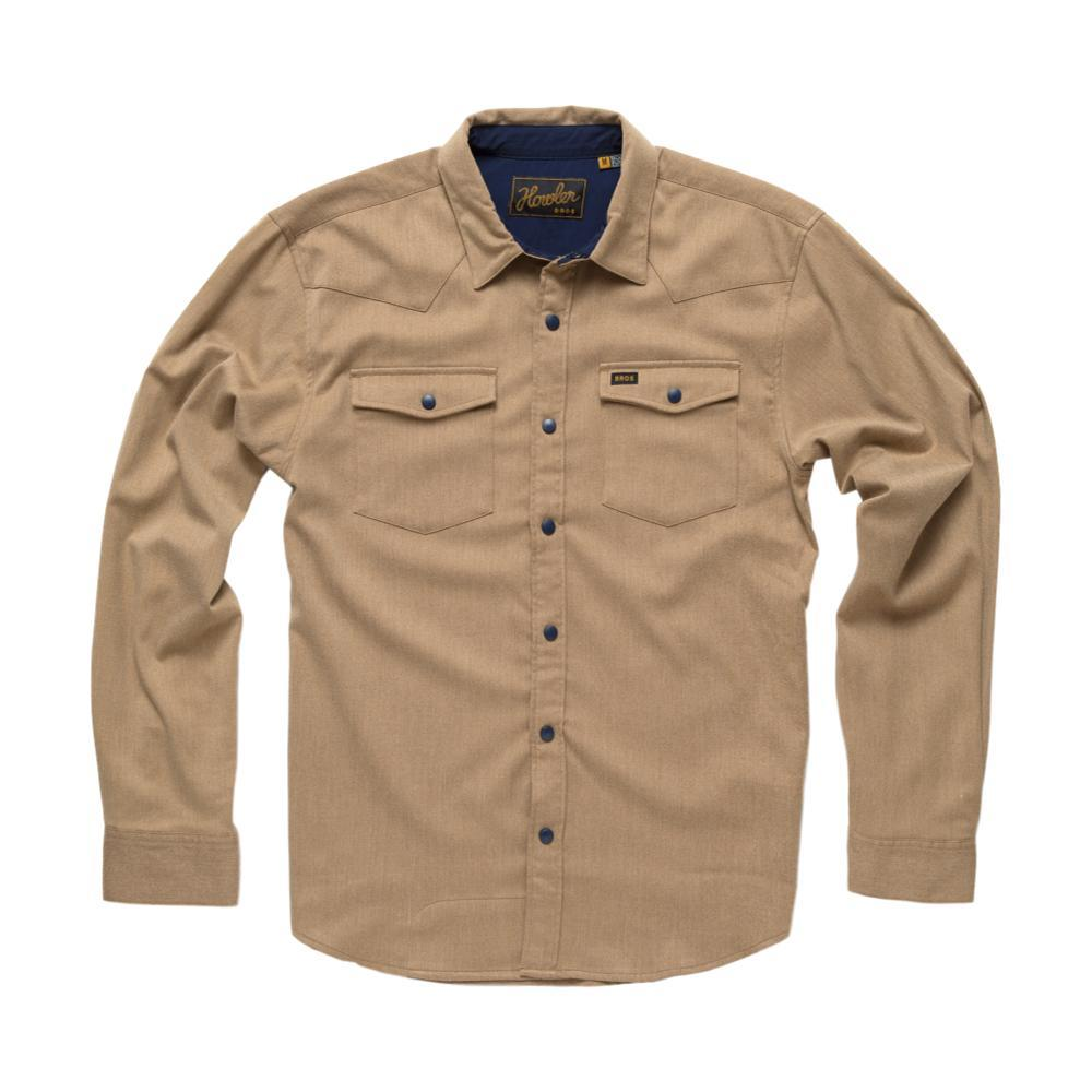 Howler Brothers Stockman Stretch Long Sleeve Shirt SANDCASTLE