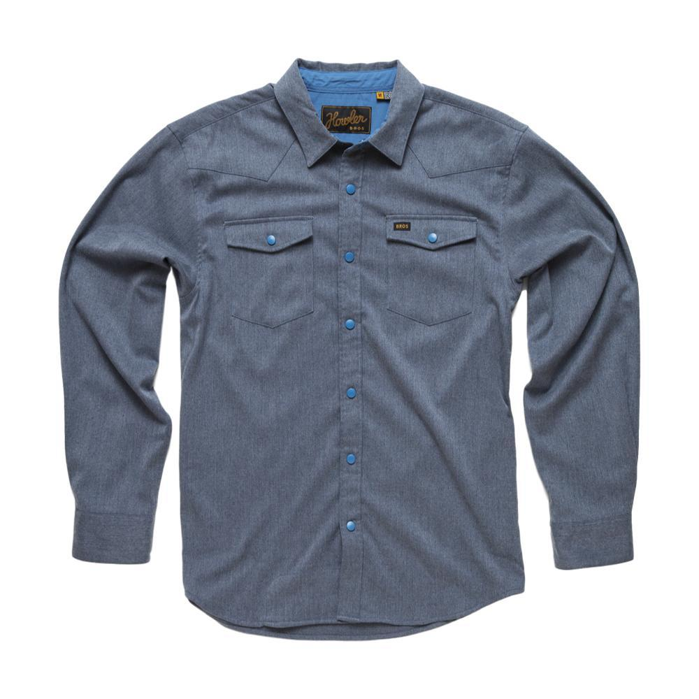 Howler Brothers Stockman Stretch Long Sleeve Shirt YONDERBLUE