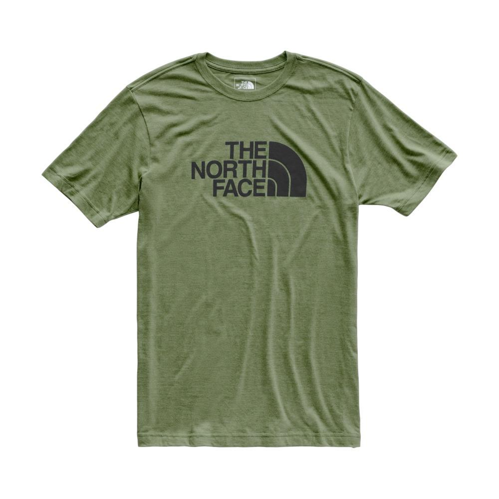 The North Face Men's Short Sleeve Tri-Blend Half Dome Tee GDGRN_AVR