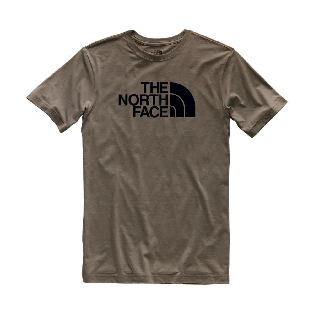 The North Face Men's Short Sleeve Tri-Blend Half Dome Tee TAUPGRN_BQT