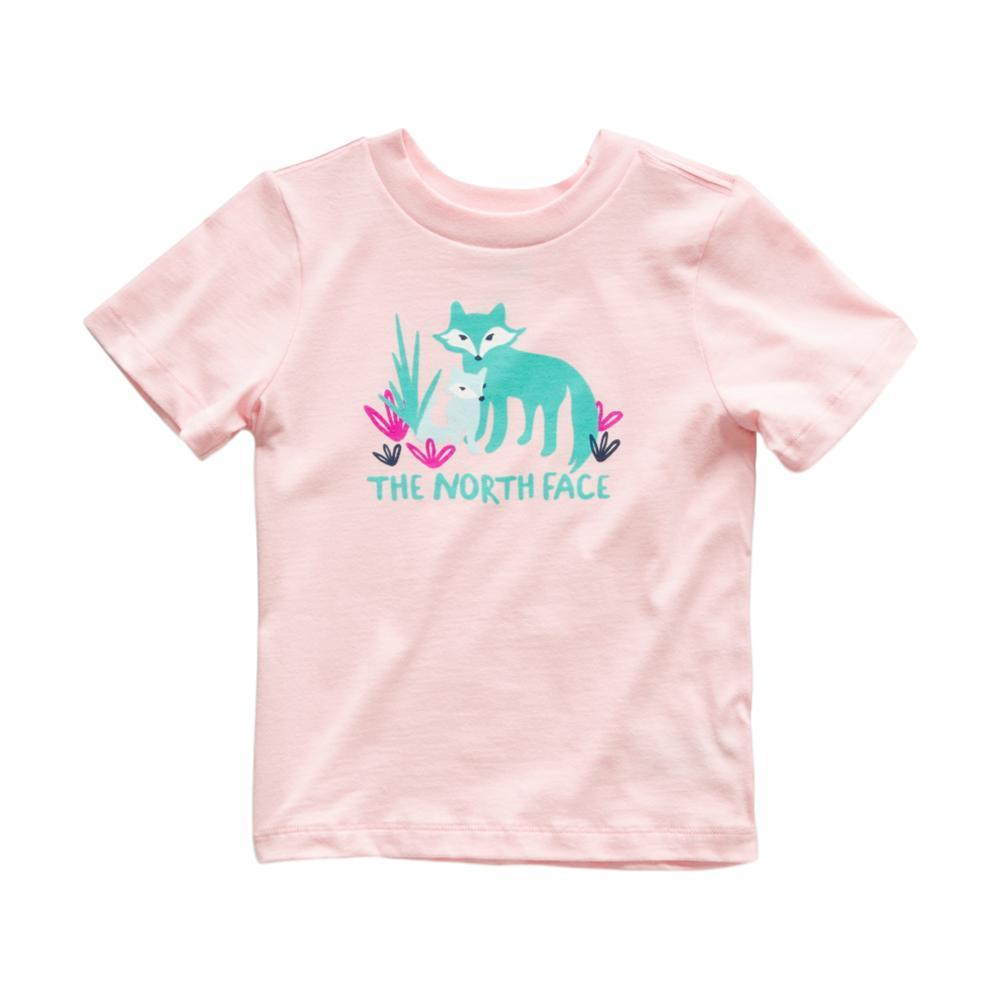 The North Face Toddler Short Sleeve Graphic Tee PINK_RS4