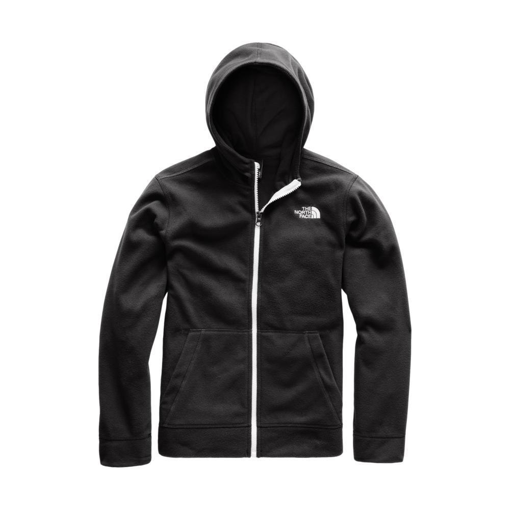 The North Face Boys Glacier Full Zip Hoodie BLACK_JK3