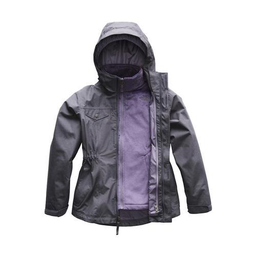 The North Face Girls Osolita 2.0 Triclimate Jacket Greyheath_4vp