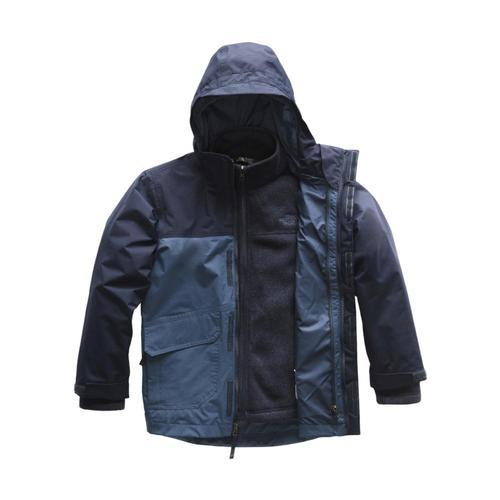 The North Face Boys Gordon Lyons Triclimate Jacket Shadyblue_hdc