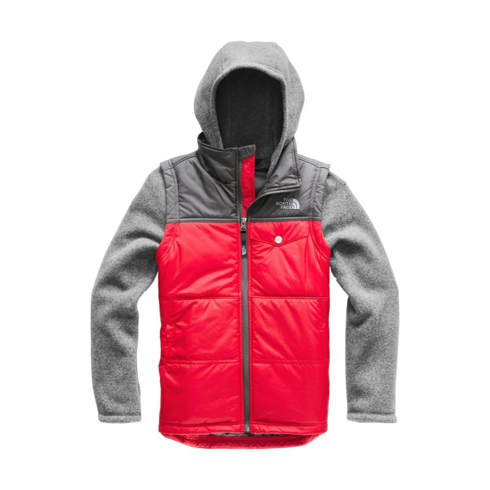 The North Face Boys Gordon Lyons Vesty Vest REDGRY_682