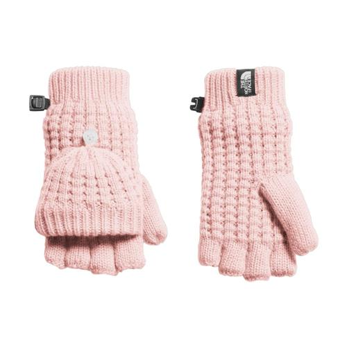 The North Face Youth Waffle Flip Mitts Pink_rs4