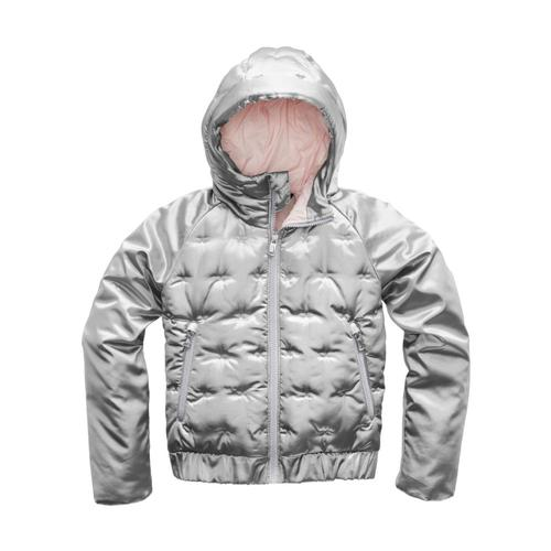 The North Face Girls Mashup Hoodie Metsilver_85v
