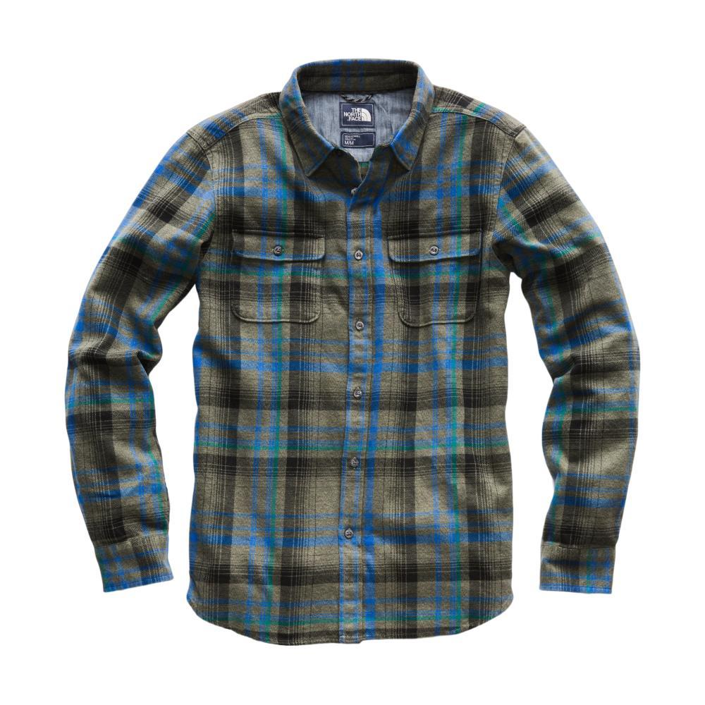 The North Face Men's Long Sleeve Arroyo Flannel Shirt 6BS_CLOVER