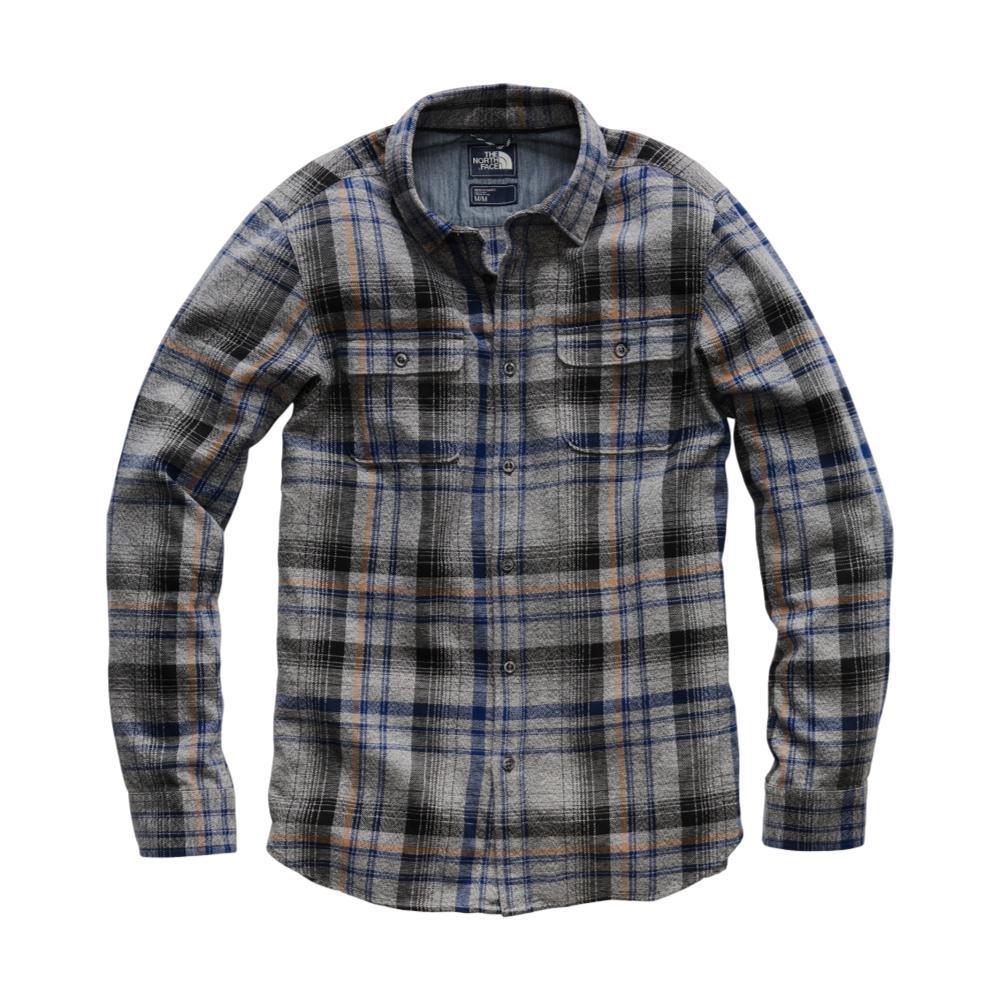 The North Face Men's Long Sleeve Arroyo Flannel Shirt 6BU_ASGREY