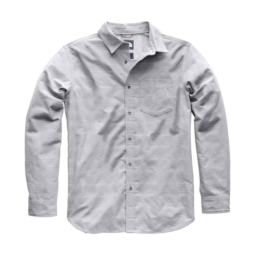 The North Face Men's Long Sleeve Sub-Alpine Jacq Shirt 8LG_MIDGREY