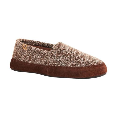 Acorn Men's Moc Slippers Browntweed