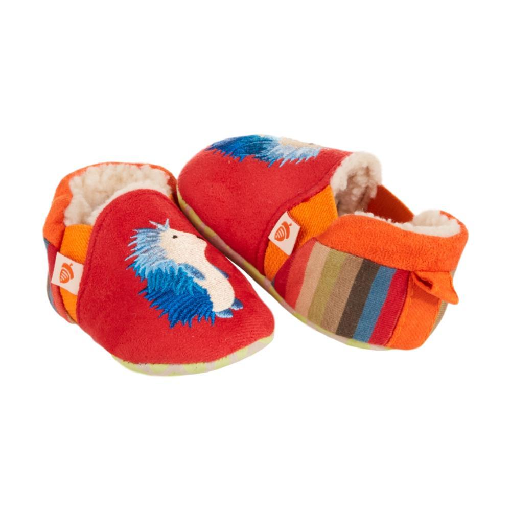 Acorn Toddlers Easy-On Moc Slippers REDHDGHOG