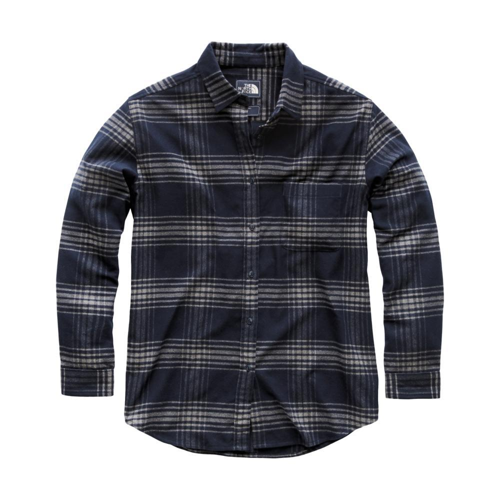 The North Face Women's Long Sleeve Boyfriend Shirt 6DN_URBNAVY