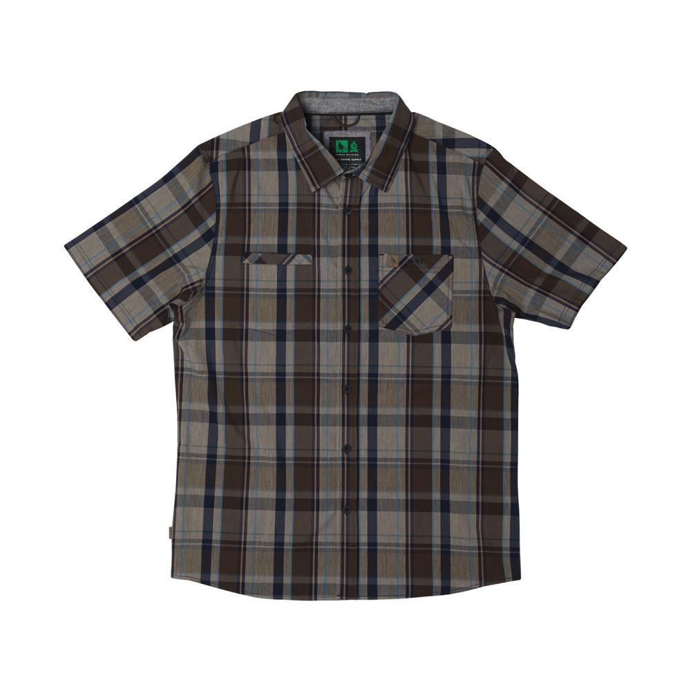 Hippy Tree Men's Burbank Woven Shirt GREY