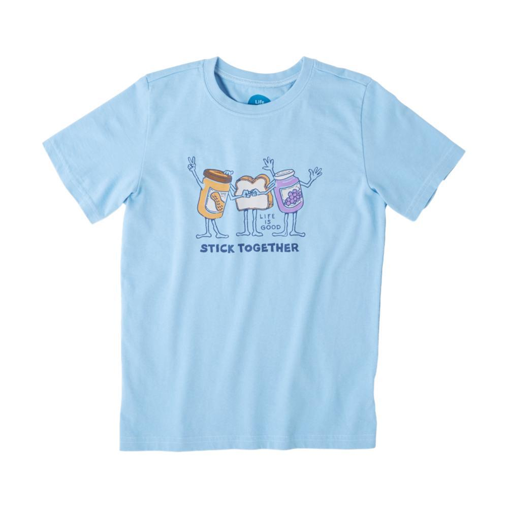 Life is Good Boys Stick Together PB&J Crusher Tee CARBLUE