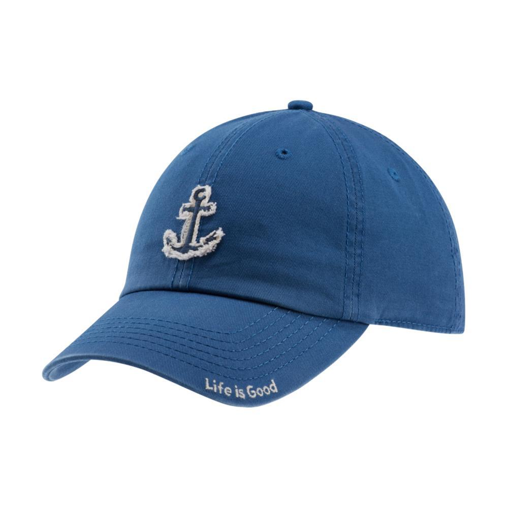 Life is Good Tattered Anchor Chill Cap VINTAGEBLUE
