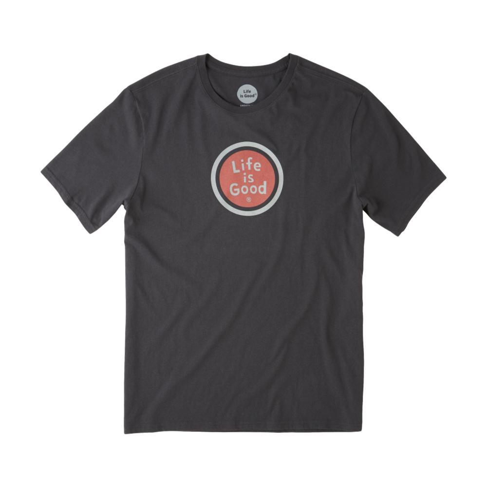 Life is Good Men's LIG Coin Smooth Tee NIGHTBLACK