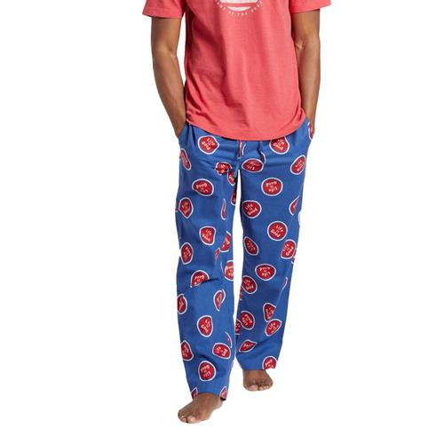 Life is Good Men's LIG Coin Toss Classic Sleep Pants Vintblue