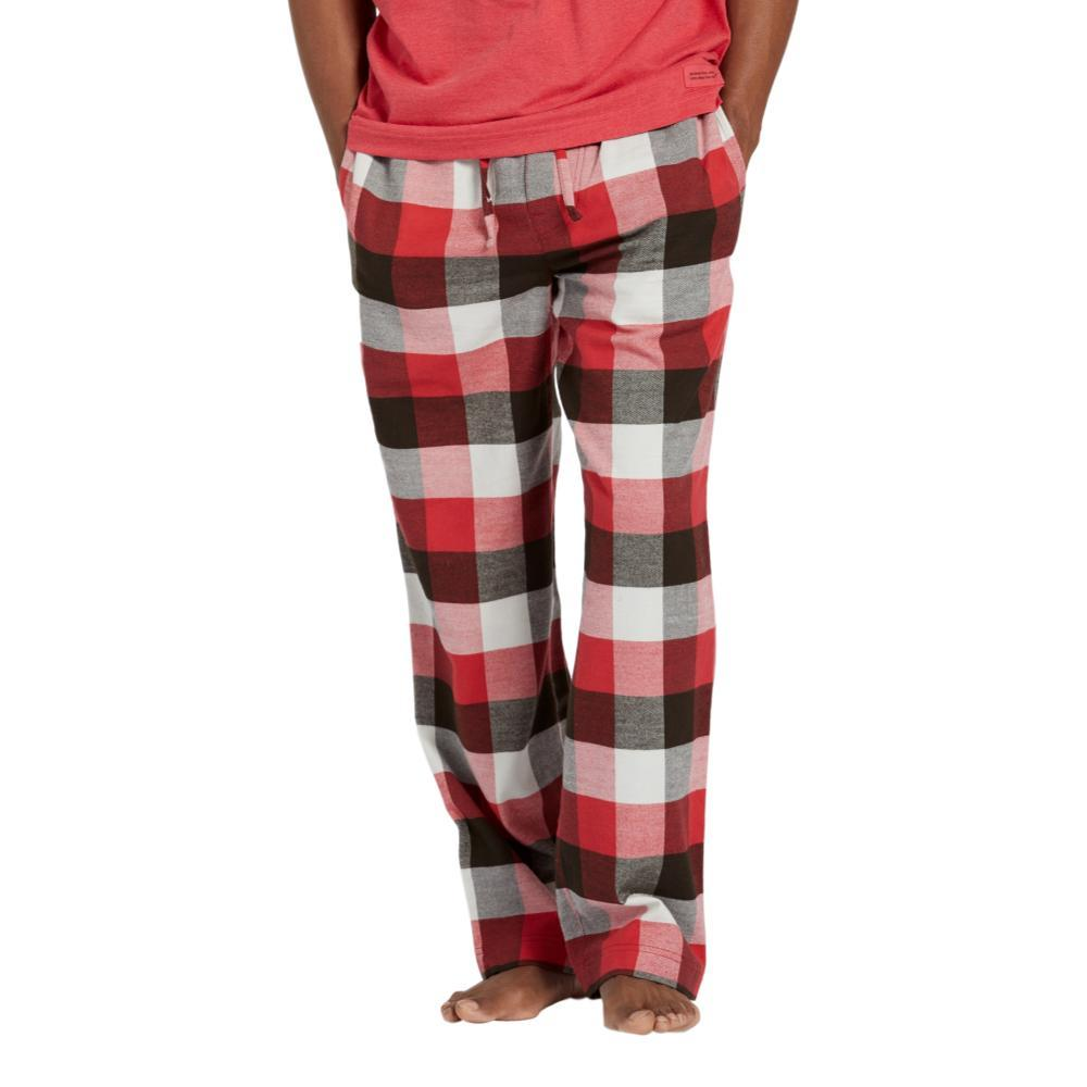 Life is Good Men's Sleepy Red Plaid Classic Sleep Pants REDPLAID