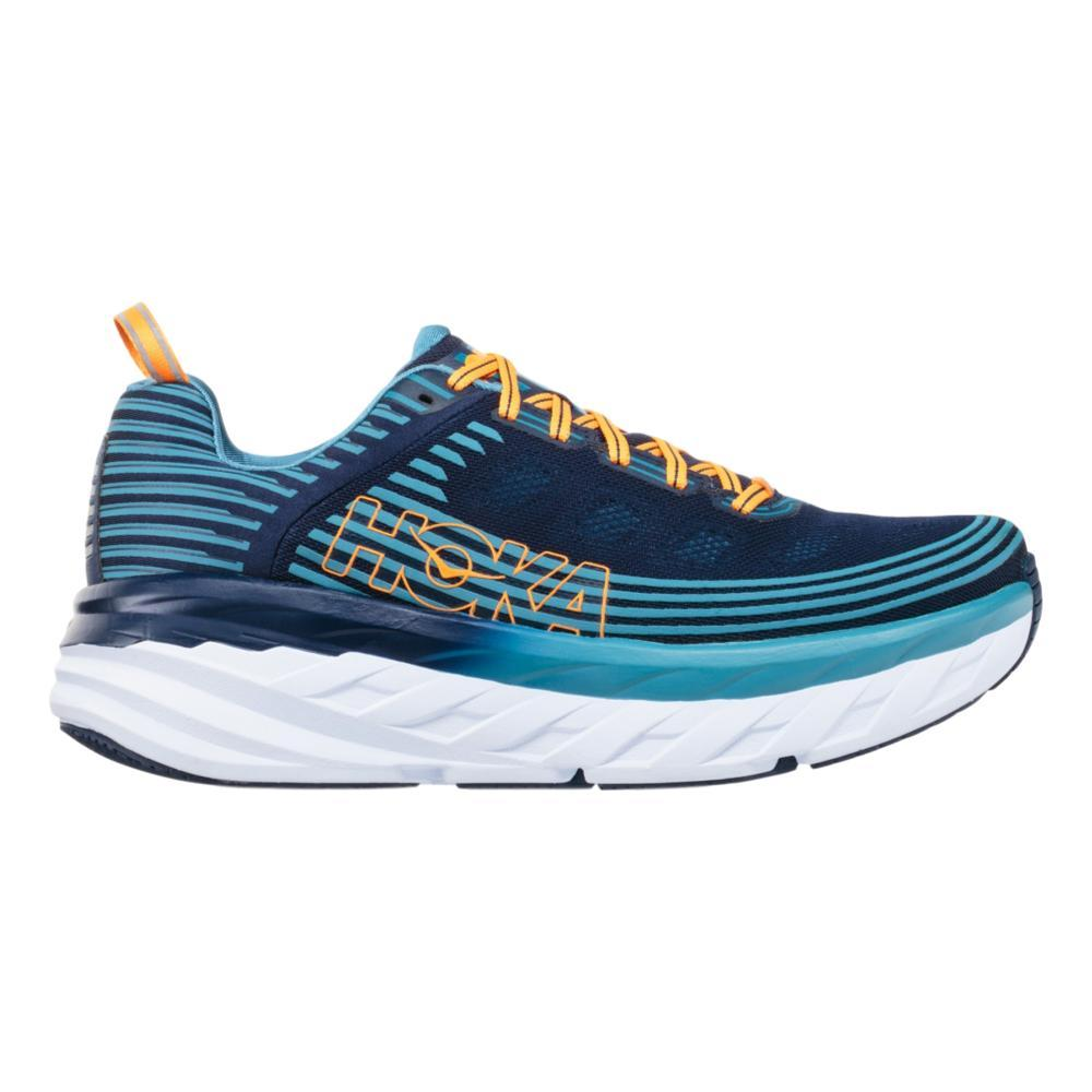 Hoka One One Men's Bondi 6 Running Shoes BKIR.SBLU_BISB