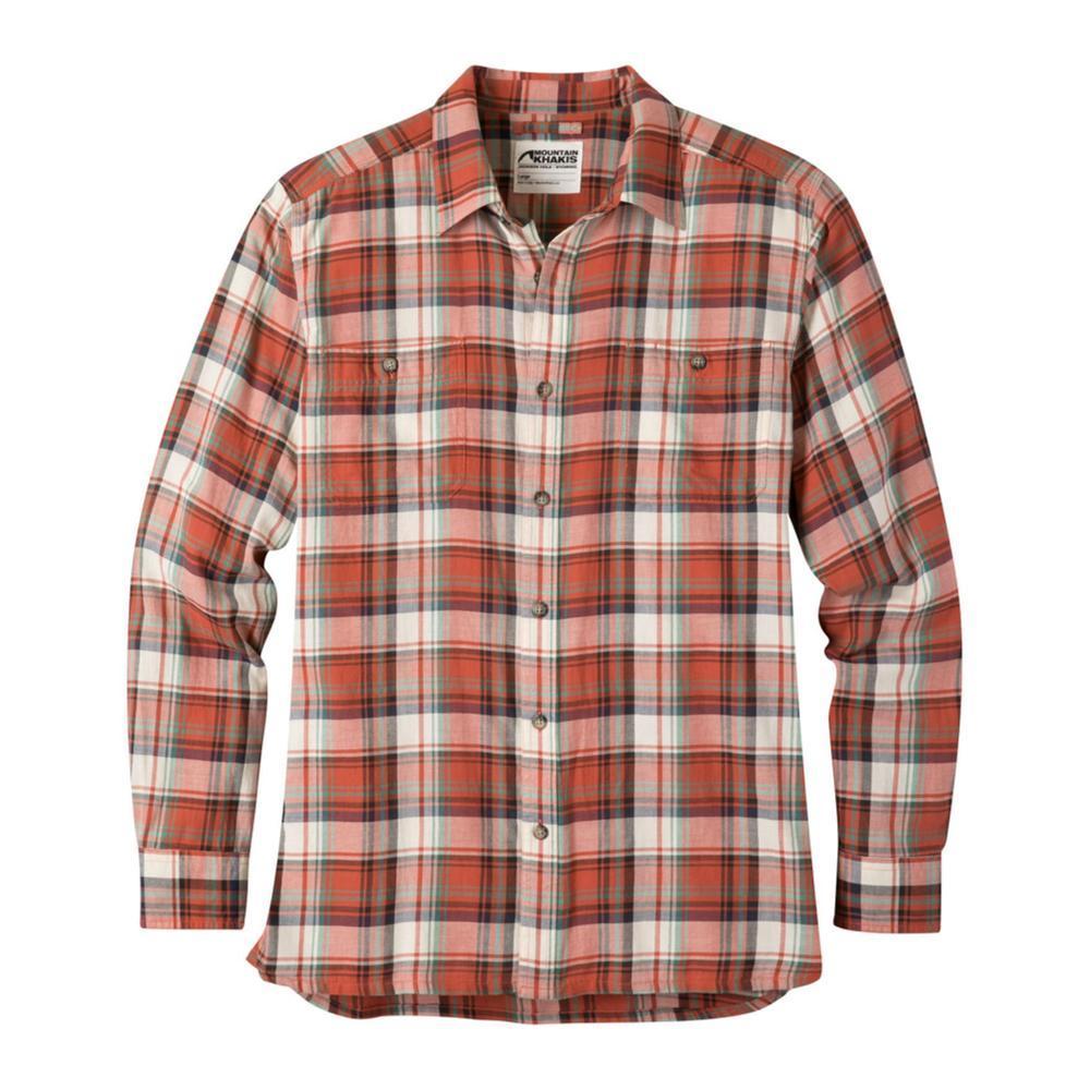 Mountain Khakis Men's Meridian Long Sleeve Shirt REDWOOD