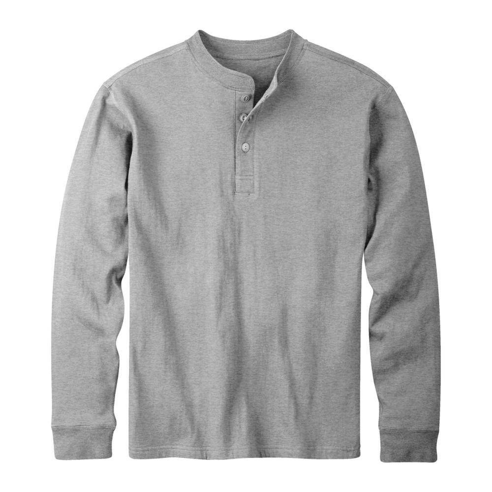 Mountain Khakis Men's Trapper Henley Shirt HTHRGREY
