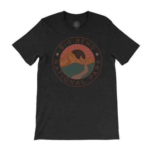 Parks Project Unisex Big Bend Watershed T-Shirt Hthblack