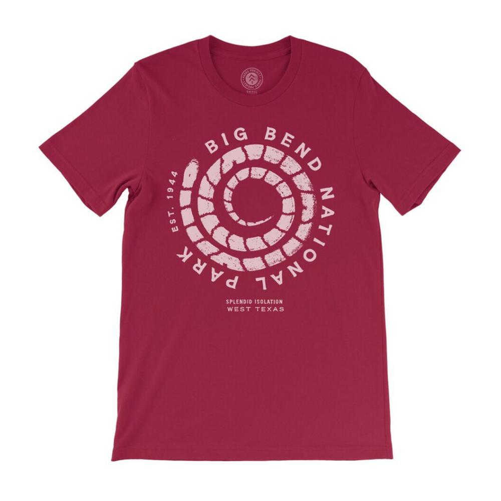 Parks Project Unisex Big Bend Coiled Up Tee CARDINAL