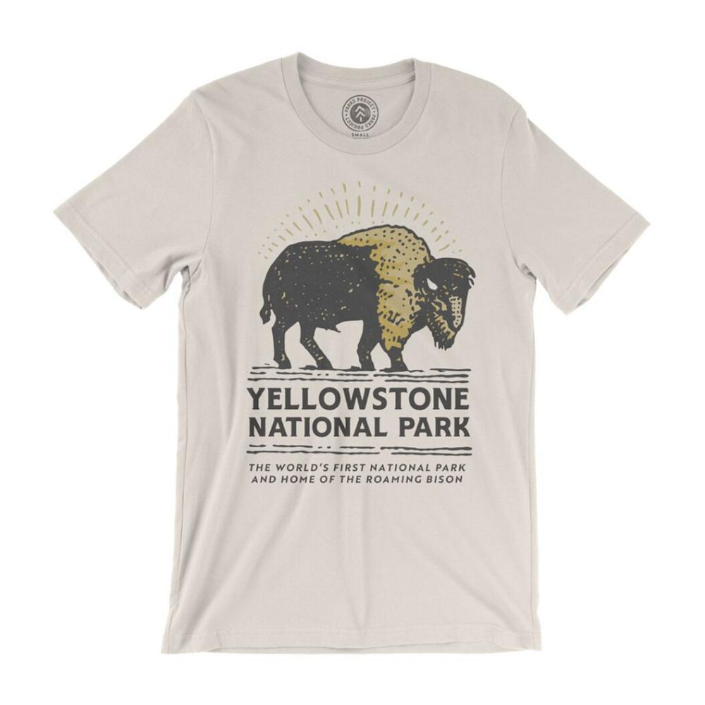 Parks Project Unisex Yellowstone Bison Buddy Tee NATURAL