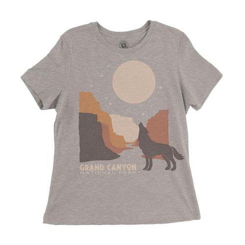 Parks Project Women's Grand Canyon Howlin Tee Hthstone