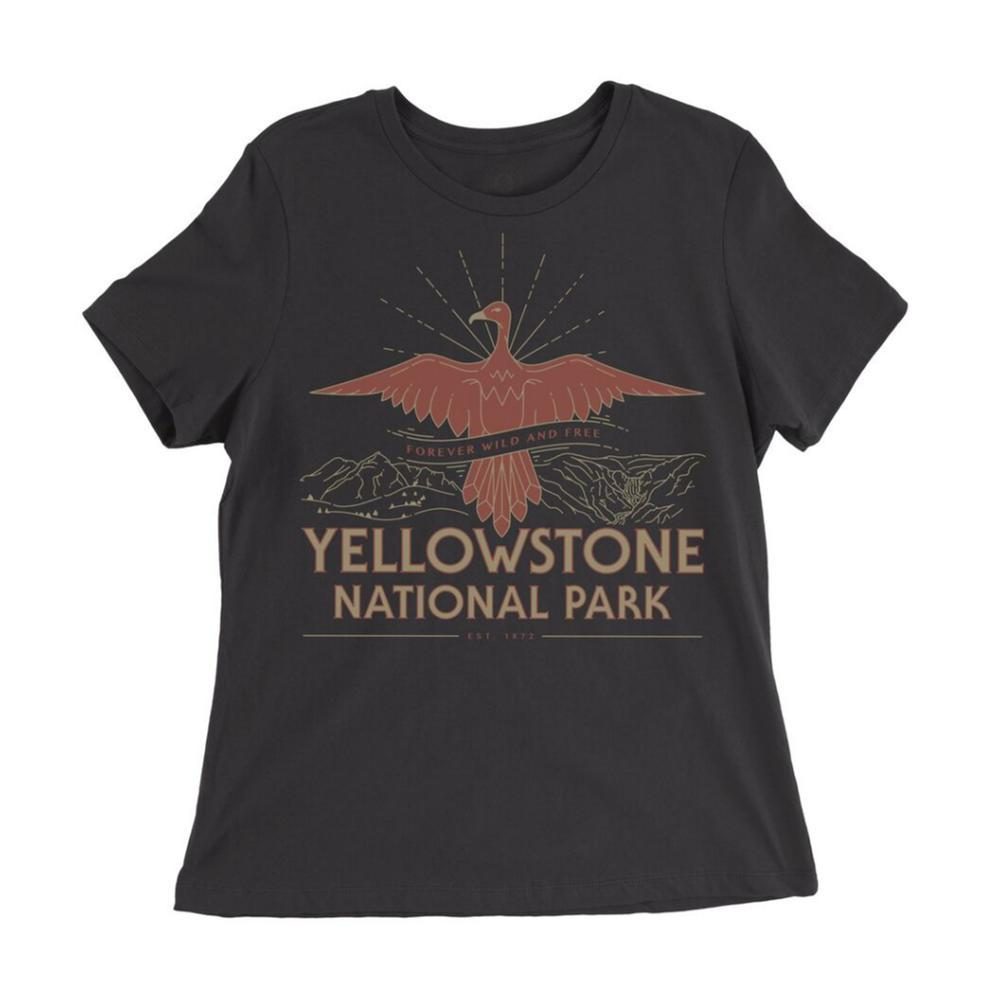 Parks Project Women's Yellowstone Firebird Tee BLACK