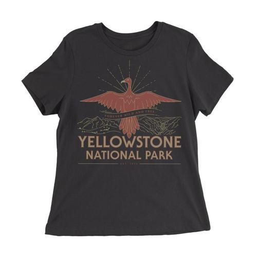 Parks Project Women's Yellowstone Firebird Tee Black