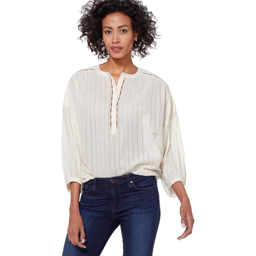 Pendleton Women's Esme Popover Shirt ANTIWHTMT