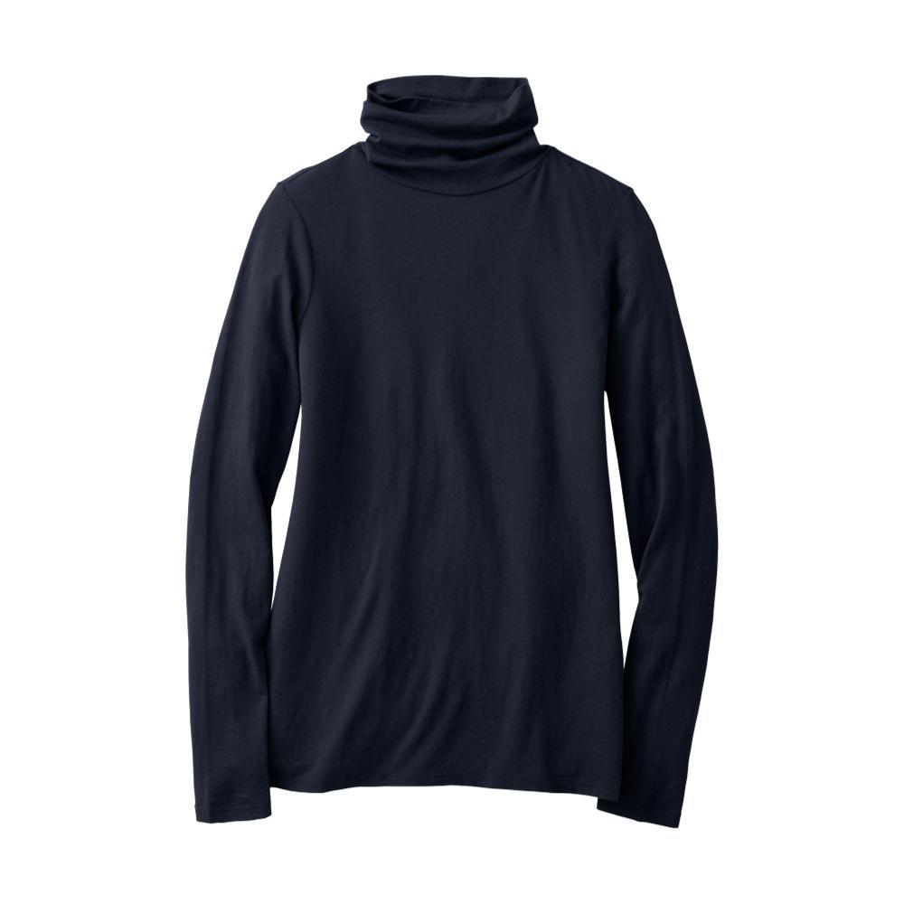 Pendleton Women's Long Sleeve Turtleneck Jersey Tee MIDNAVY