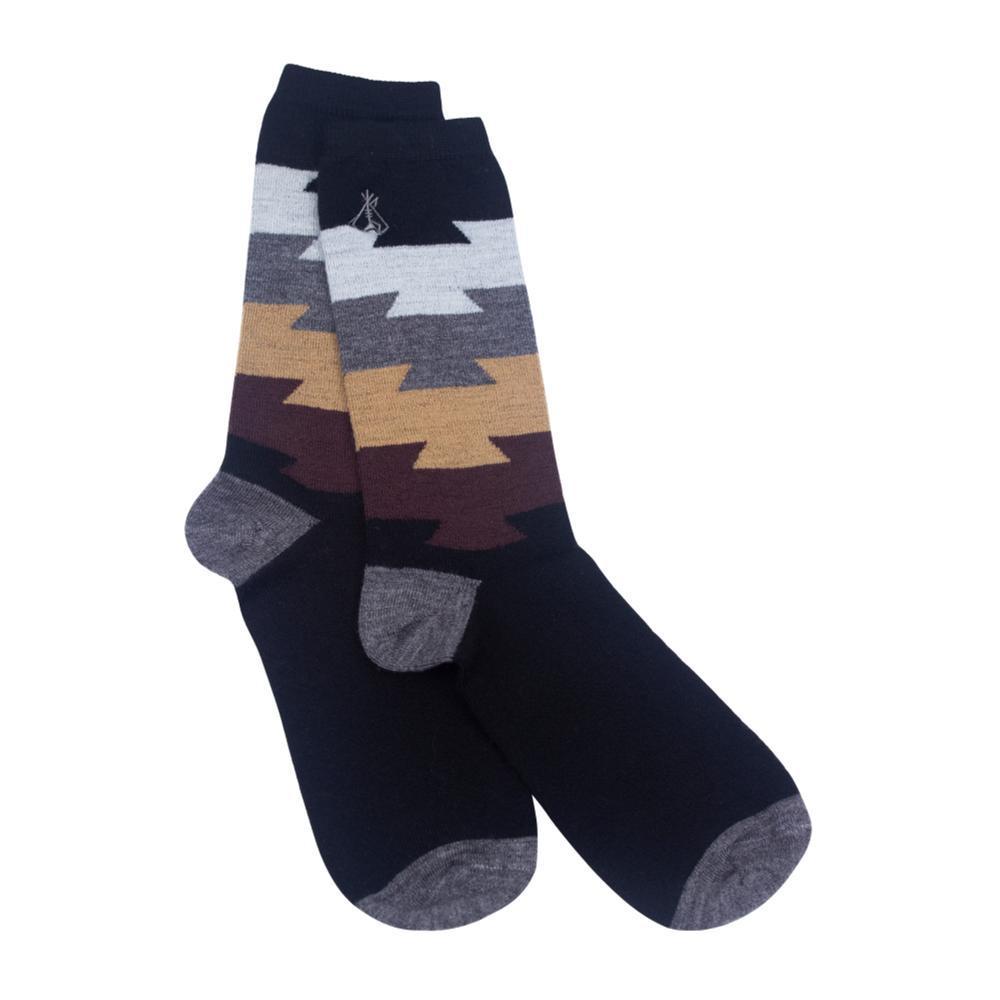 Pendleton Unisex Color Block Crew Socks BLACK
