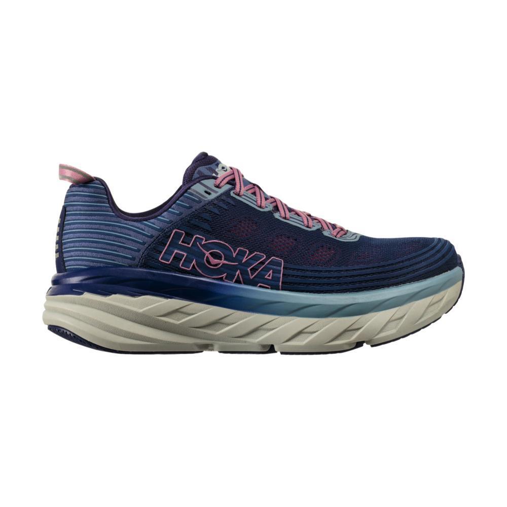Hoka One One Women's Bondi 6 Running Shoes MARLINBLUE